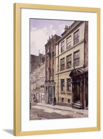 Painter-Stainers' Hall, Little Trinity Lane, London, 1888-John Crowther-Framed Giclee Print