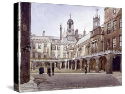 Lincoln's Inn Old Hall, London, 1889-John Crowther-Stretched Canvas Print