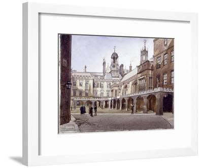 Lincoln's Inn Old Hall, London, 1889-John Crowther-Framed Giclee Print