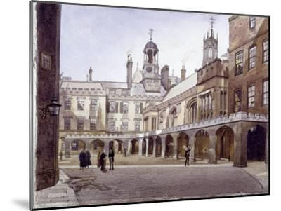Lincoln's Inn Old Hall, London, 1889-John Crowther-Mounted Giclee Print