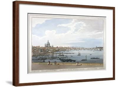 Blackfriars Bridge, London, 1795-Joseph Constantine Stadler-Framed Giclee Print