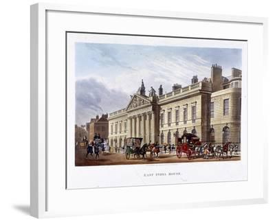 East India House, London, 1836-Joseph Constantine Stadler-Framed Giclee Print