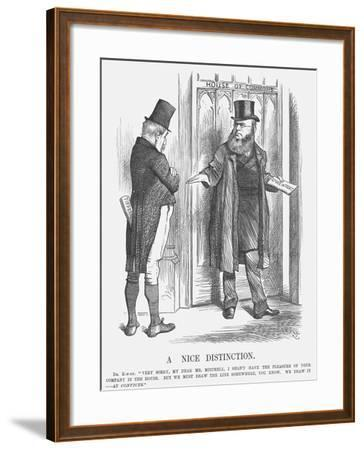 A Nice Distinction, 1875-Joseph Swain-Framed Giclee Print