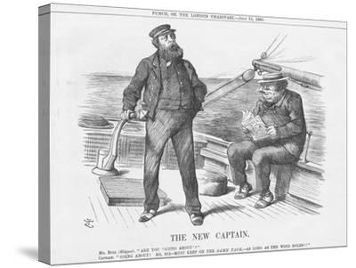 The New Captain, 1885-Joseph Swain-Stretched Canvas Print