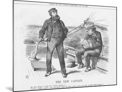 The New Captain, 1885-Joseph Swain-Mounted Giclee Print