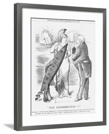 Fiat Experimentum-!, 1877-Joseph Swain-Framed Giclee Print