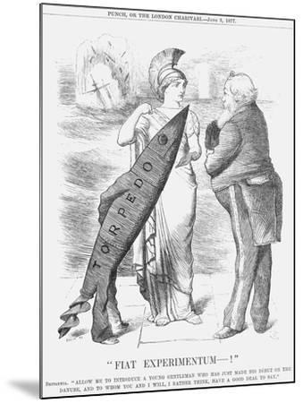 Fiat Experimentum-!, 1877-Joseph Swain-Mounted Giclee Print