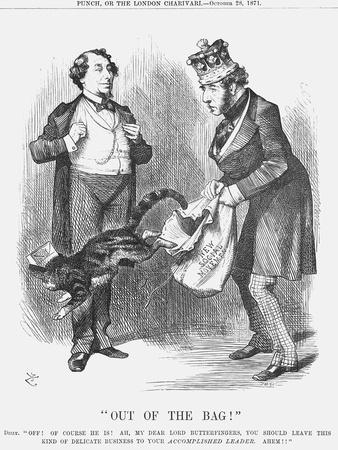 Out of the Bag!, 1871-Joseph Swain-Framed Giclee Print