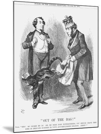 Out of the Bag!, 1871-Joseph Swain-Mounted Giclee Print