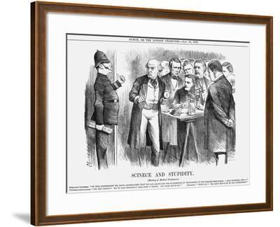 Scinece and Stupidity, 1876-Joseph Swain-Framed Giclee Print