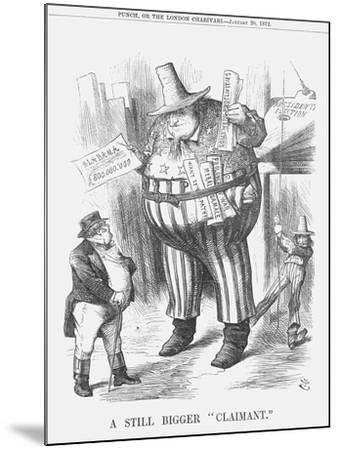 A Still Bigger Claimant, 1872-Joseph Swain-Mounted Giclee Print