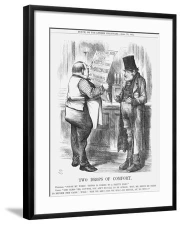 Two Drops of Comfort, 1871-Joseph Swain-Framed Giclee Print