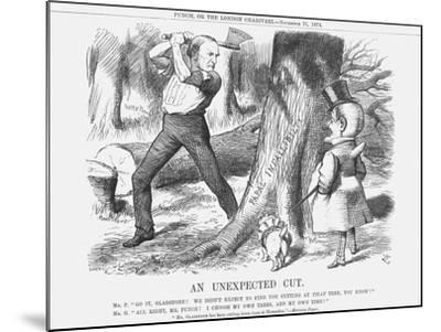 An Unexpected Cut, 1874-Joseph Swain-Mounted Giclee Print