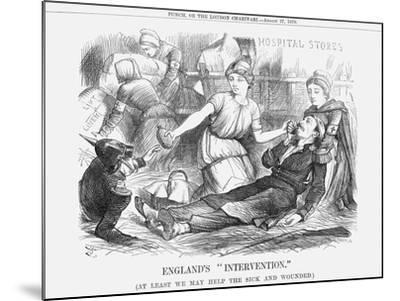 England's Intervention, 1870-Joseph Swain-Mounted Giclee Print