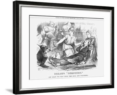 England's Intervention, 1870-Joseph Swain-Framed Giclee Print