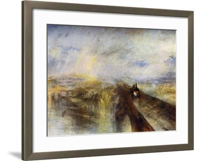 Rain, Steam and Speed - the Great Western Railway, C1844-J^ M^ W^ Turner-Framed Giclee Print