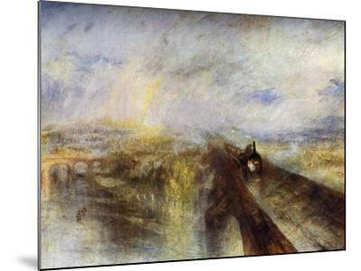 Rain, Steam and Speed - the Great Western Railway, C1844-J^ M^ W^ Turner-Mounted Giclee Print