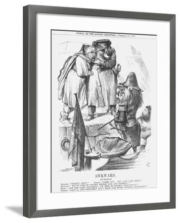Awkward, 1878-Joseph Swain-Framed Giclee Print