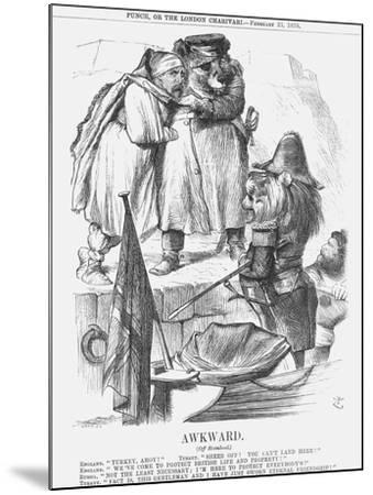 Awkward, 1878-Joseph Swain-Mounted Giclee Print