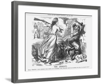 The Amnesty, 1863-John Tenniel-Framed Giclee Print
