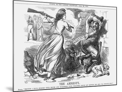 The Amnesty, 1863-John Tenniel-Mounted Giclee Print
