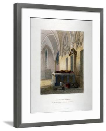 Tomb of Lancelot Andrews in the Lady Chapel, St Saviour's Church, Southwark, London, 1851-John Wykeham Archer-Framed Giclee Print