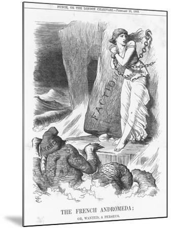 The French Andromeda; Or, Wanted, a Perseus, 1883-Joseph Swain-Mounted Giclee Print