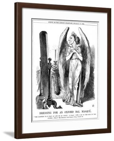 Benjamin Disraeli, British Conservative, Cartoon from Punch, 1864-John Tenniel-Framed Giclee Print