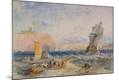 Whitby, 1824-J^ M^ W^ Turner-Mounted Giclee Print