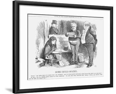 Home-(Rul)-Opathy, 1874-Joseph Swain-Framed Giclee Print