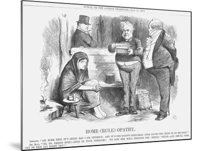 Home-(Rul)-Opathy, 1874-Joseph Swain-Mounted Giclee Print