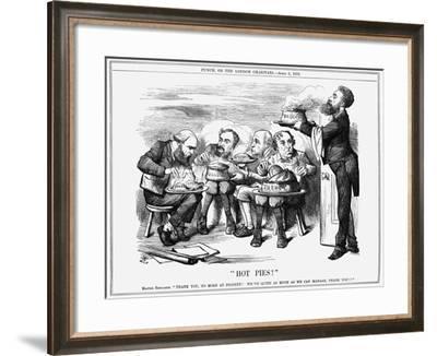 Hot Pies!, 1879-Joseph Swain-Framed Giclee Print