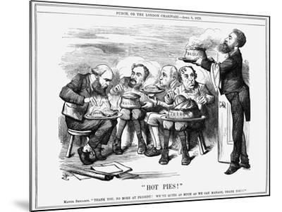 Hot Pies!, 1879-Joseph Swain-Mounted Giclee Print