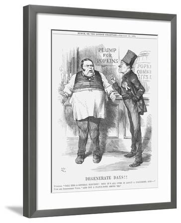 Degenerate Days!!, 1874-Joseph Swain-Framed Giclee Print