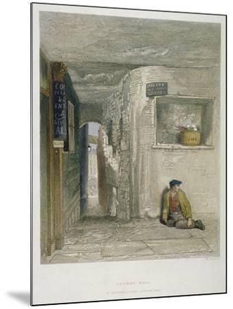 St Martin's Court, Ludgate Hill, City of London, 1851-John Wykeham Archer-Mounted Giclee Print