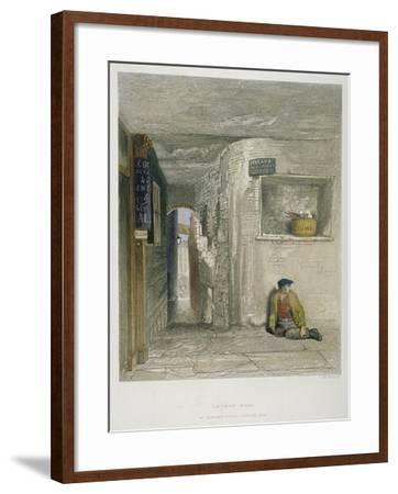 St Martin's Court, Ludgate Hill, City of London, 1851-John Wykeham Archer-Framed Giclee Print