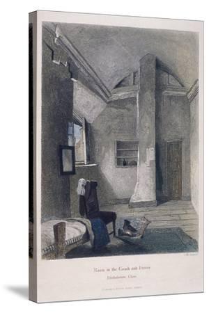 Coach and Horses Inn, Bartholomew Close, London, 1851-John Wykeham Archer-Stretched Canvas Print