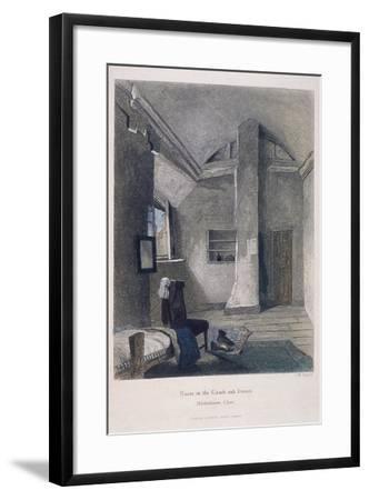 Coach and Horses Inn, Bartholomew Close, London, 1851-John Wykeham Archer-Framed Giclee Print