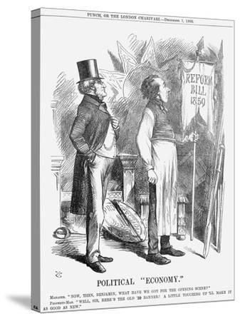 Political Economy, 1866-John Tenniel-Stretched Canvas Print