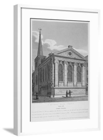 Church of St Michael, Wood Street, City of London, 1814-Joseph Skelton-Framed Giclee Print