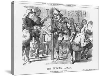 The Modern Caesar, 1882-Joseph Swain-Stretched Canvas Print
