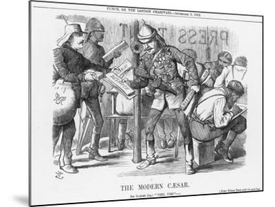 The Modern Caesar, 1882-Joseph Swain-Mounted Giclee Print