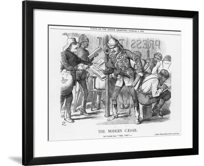 The Modern Caesar, 1882-Joseph Swain-Framed Giclee Print