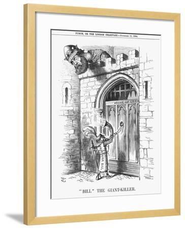 Bill the Giant-Killer, 1884-Joseph Swain-Framed Giclee Print