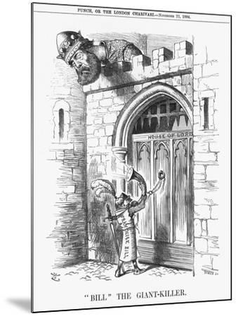 Bill the Giant-Killer, 1884-Joseph Swain-Mounted Giclee Print