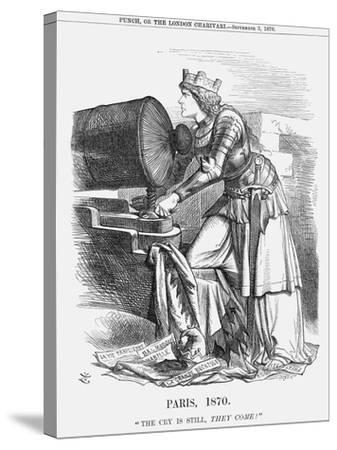 Paris, 1870-Joseph Swain-Stretched Canvas Print