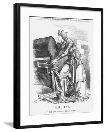 Paris, 1870-Joseph Swain-Framed Giclee Print