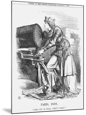 Paris, 1870-Joseph Swain-Mounted Giclee Print