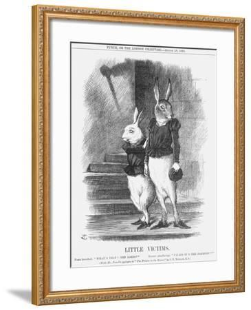 Little Victims, 1880-Joseph Swain-Framed Giclee Print