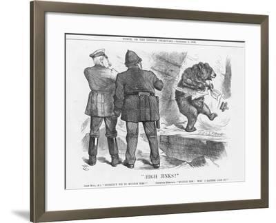 High Jinks!, 1886-Joseph Swain-Framed Giclee Print